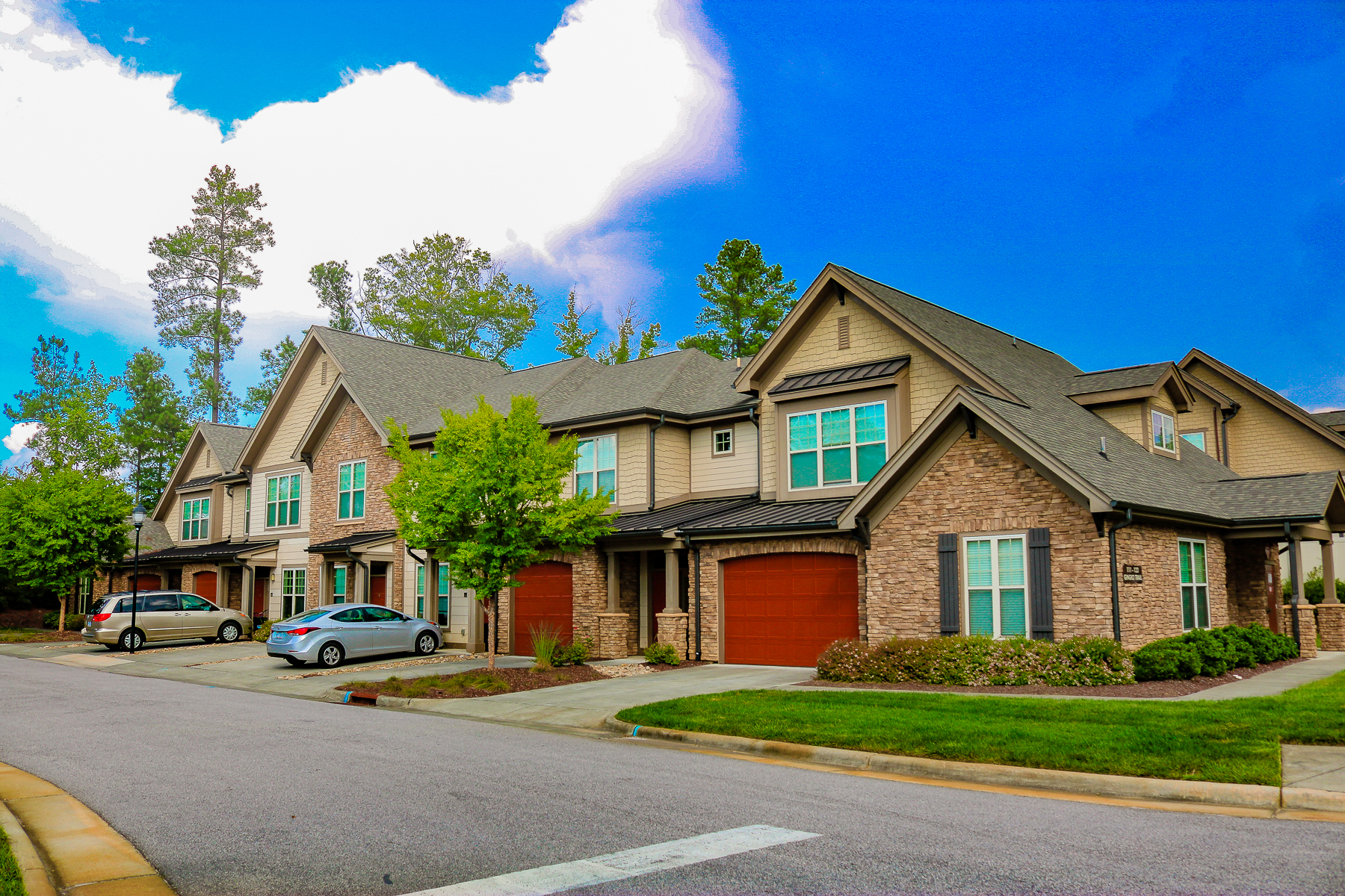 Townhomes at Chapel Watch Village a Northwood Ravin Signature Community